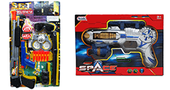 Over One Dollar Wholesale Toy Gun Sets