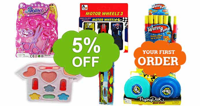 Five Percent off your first Artoy Trading Order